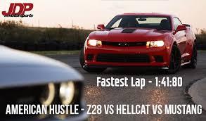 camaro z28 vs mustang gt jdp auto events hustle 2015 z28 2015 hellcat