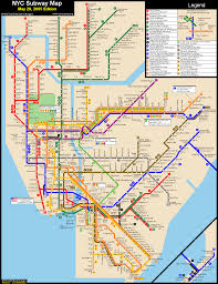 cool map of new york metro travelsmaps pinterest subway map