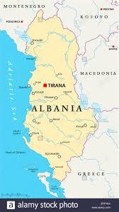 Map Of Albania Republic Of Albania Stock Photos U0026 Republic Of Albania Stock
