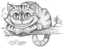 draw cheshire cat