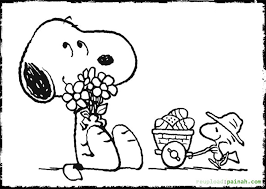 snoopy coloring pages download print free