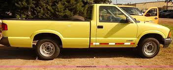 1996 chevrolet s10 pickup truck item e7815 sold septemb