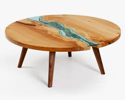 Lake And River Adorned Furniture Of Wood And Glass Lost In Internet - Lake furniture