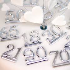 25th wedding anniversary cake decorations