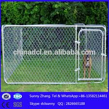 10x10x6ft outdoor backyard portable cheap chain link large dog