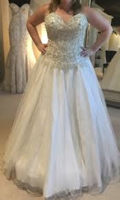 gown for wedding wu 15584 750 size 16 new un altered wedding dresses