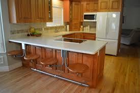 contemporary kitchen design with bar ideas island impressive small