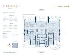 River City Phase 1 Floor Plans by L U0027atelier Lux Life Miami Blog