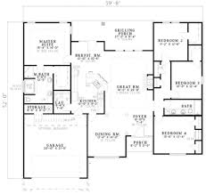 baby nursery 1800 sq ft house plans one story traditional style
