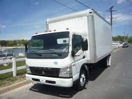 mitsubishi truck used 2010 mitsubishi fe 180 box van truck for sale in in new