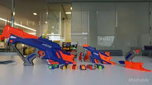 nerf car gun nerf u0027s newest blasters shoot foam cars not darts