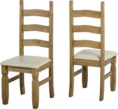 Waxed Pine Dining Table Sales Spt Furniture Corona Chair Pair Distressed Waxed Pine