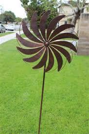metal windmill wind farm wind spinner yard stake garden stake yard
