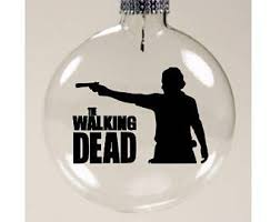 the walking dead ornament etsy
