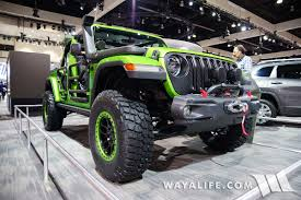 rubicon jeep colors 2017 la auto show mojito green jeep jl wrangler rubicon unlimited