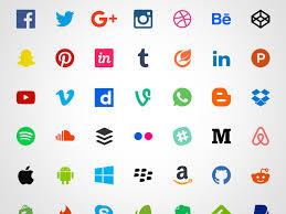 50 free flat social icons sketch freebie download free resource