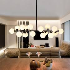 Milk Glass Pendant Light Dbf 16 Gold Black Magic Bean Led Pendant Light For Shop Modern