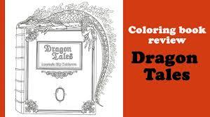 dragon tales u0027 coloring book review flip