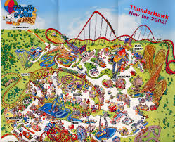 Worlds Of Fun Map by Park Maps