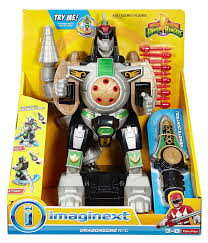 amazon com fisher price imaginext power rangers green ranger