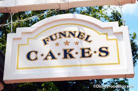 funnel cake the disney food blog