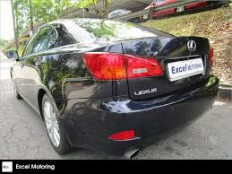 lexus used buy buy used toyota lexus is250 auto std car in singapore 56 800