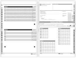 answer sheet cpe study guide