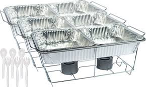 chafing dish buffet set 24pc party city