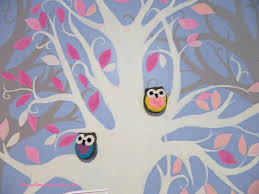 owl theme baby shower and nursery