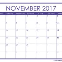 thanksgiving day 2017 calendar bootsforcheaper