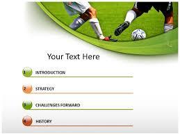 powerpoint templates on football positions powerpoint templates