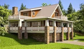 top 13 photos ideas for walkout bungalow house plans home plans