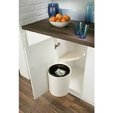 Screwfix Kitchen Cabinets Hafele Plastic Waste Bin White 10ltr Kitchen Bins Screwfix Com