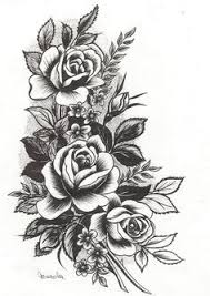 Flower Tattoos On - i want something like this incorporated into my 1 2 sleeve tat i