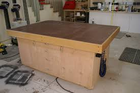 Woodworking Workbench Top Material by 18 How To Build A Torsion Box Assembly Table Top Part 1 Of 2