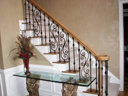 Solid Banister Stair Cool Picture Of Home Interior Stair Design Using Solid