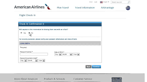 united airlines check in baggage fee aa com online check in youtube