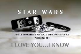 wars wedding bands geeky yet affordable wedding rings youbentmywookie