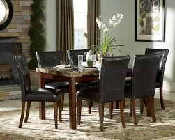 Dining Room Area Rug Ideas by Furniture Homelegance Dining Set And Area Rug With Stacked Stone