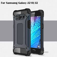 armor back cover for samsung galaxy j2 j210 2016 phone