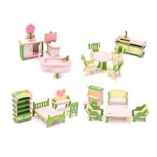 Dolls House Furniture Sets Well Reviewed Wooden Dolls House Miniature Accessory Room