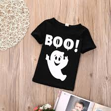 Halloween Baby Shirts by 2017 Cute 2016 Wholesale Halloween Boys Girls Ghost Printed T