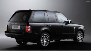 range rover autobiography 2012 2011 range rover autobiography limited edition in black side pose