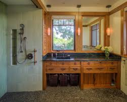 Craftsman Style Bathroom Gorgeous Arts And Crafts Bathroom Lighting Craftsman Style