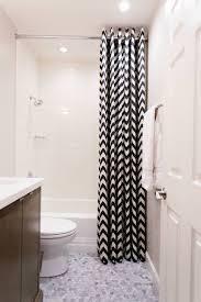 bathroom curtain designs decorating ideas design trends small bathroom and white chevron curtain design