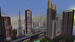 New York City Minecraft Map by Epic New York City Year 3005 Modern City Update 4 0 Download Now
