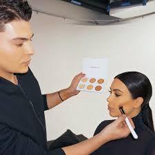 kim kardashian s make up artist mario dedivanovic reveals his contouring tricks