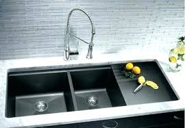 black kitchen sink faucets modern minimalist black kitchen sink kitchenidease pertaining