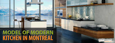 model design and renovation of modern kitchen in montreal