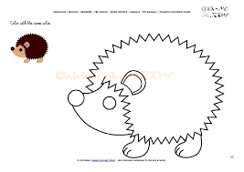 hedgehog coloring pages coloring page hedgehog color hedgehog picture